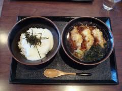 朝定とろろ飯セット+ちくわ天 500+130円
