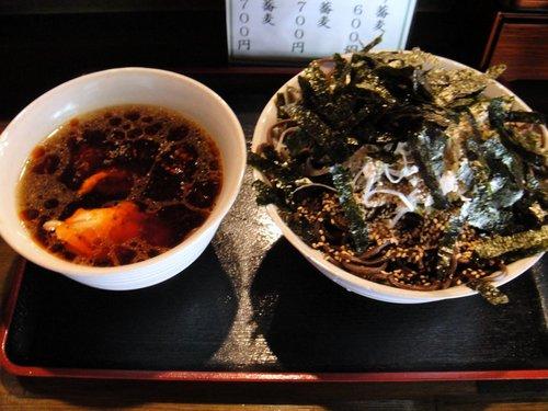 ひかり@神保町 (3) とり蕎麦 700円.JPG