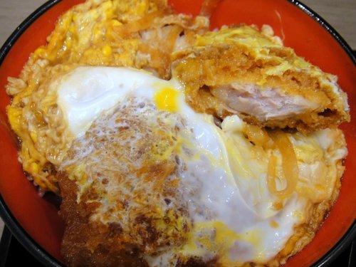 富士そば@大井町東口 (7) ミニヒレカツ丼セット もり 500円.JPG