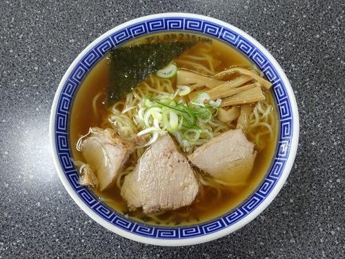 いろは食堂@羽前大山 (14)中華そば630もりそば600.JPG