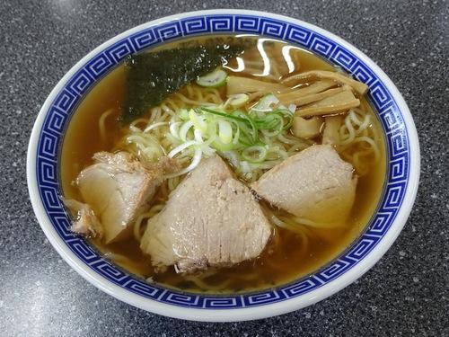 いろは食堂@羽前大山 (15)中華そば630もりそば600.JPG