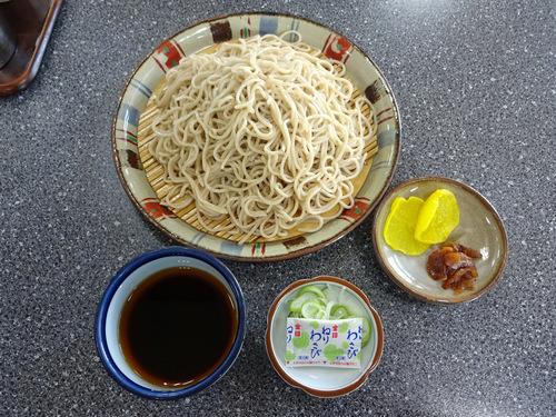 いろは食堂@羽前大山 (16)中華そば630もりそば600.JPG