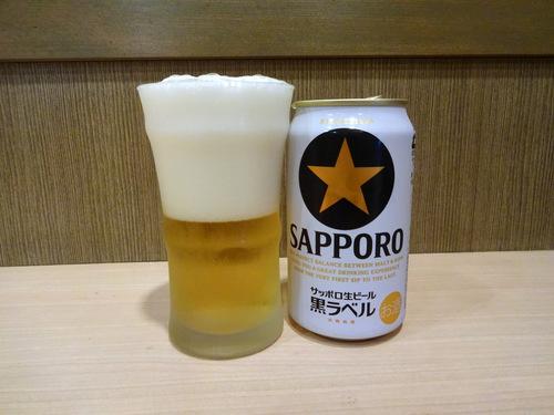 ことぶき@五反田 (7)ばら天そばもり420ビール330.JPG