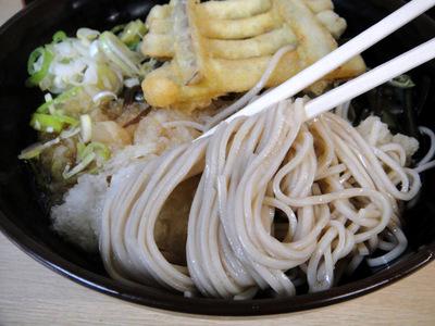 じょうなん亭@五反田(12)冷し山菜おろしそば470ごぼう天130.JPG
