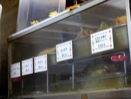 六文そば第2店@日暮里 (3)かけそば200ゲソ100.JPG
