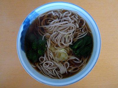桝田食品@長野県(4)信州産そば粉でつくった生蕎麦.JPG
