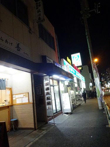 永坂庵@本郷三丁目 (1)ゲソかき揚げ田舎蕎麦400.JPG