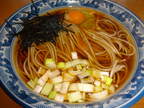 玉谷製麺所@山形県 (10)月山そば.JPG