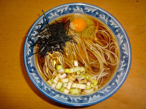 玉谷製麺所@山形県 (9)月山そば.JPG