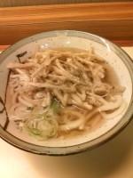星のうどん 横浜 ごぼう天うどん 370円