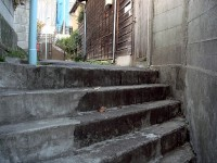 雑司が谷界隈の階段