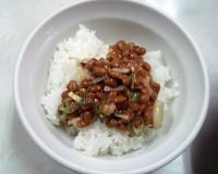 納豆ご飯(小) 180円
