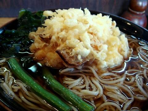 天ぷらそば/温 430円