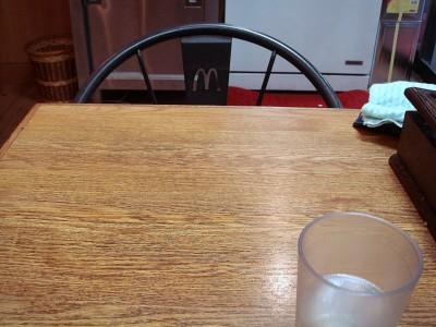 椅子がマック!?