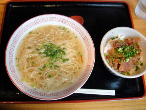 麻布そば@麻布十番 ミニ牛すじ丼ランチセット 590円 (4).JPG