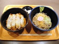 六花たべりゃんせ@御成門 かつ丼セット 680円 (3).JPG