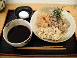 Akio製麺所@白金高輪 冷やし肉つけそば+げそ天 750+100 (4).JPG