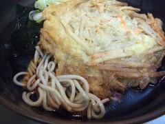 ポンヌッフ@新橋 冷やしごぼう天そば 360円 (4).JPG