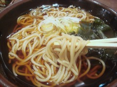 おかめ@五反田 ミニ山菜かき揚げ丼セット 670円 (7).JPG