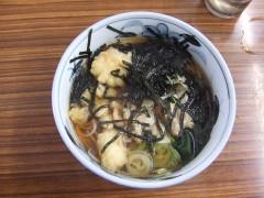 やしま@西葛西 あさりそば+小海老天 400+100円 (4).JPG