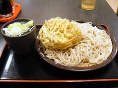ゆで太郎@大井町 大もり+ごぼう天 360+140円 (3).JPG