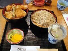 大森やまと@梅屋敷 ランチサービス 天丼のBセット 1050円 (3).JPG