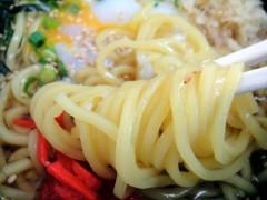 白河そば@牛込柳町 ぶっかけ中華+半熟卵 450+50円 (6).JPG