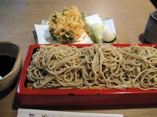 布恒更科@大森海岸 かきあげもり 1800円くらい(3).JPG