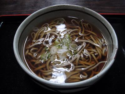 20110505 食事処いずみ@甲斐大泉パノラマの湯 (4) かけそば350.JPG