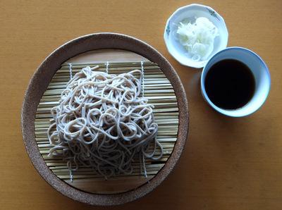 20120713松代そば善屋@新潟県(4)きそば(ふのり入り).JPG