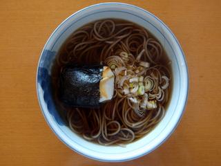 20130116滝沢食品@長野県(4)滝沢更科ざるそば処とろろ入り.JPG