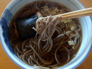 20130116滝沢食品@長野県(5)滝沢更科ざるそば処とろろ入り.JPG