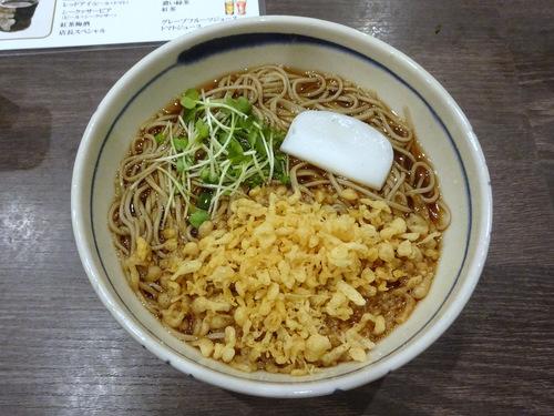 20181027蕎麦Bar HATARI@清澄白河 (15)たぬきそば680.JPG