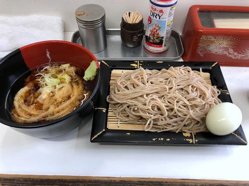 20201129そばっ子@金町 (10)かき揚げ天ぷらつけそば350ゆで玉子50.jpg
