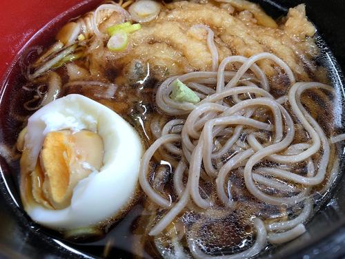 20201129そばっ子@金町 (11)かき揚げ天ぷらつけそば350ゆで玉子50.jpg