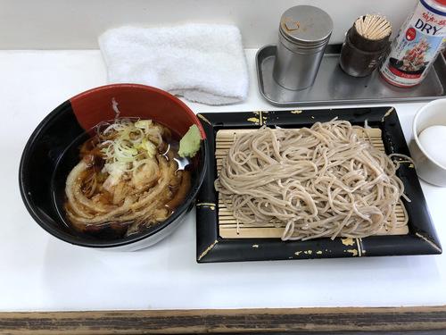 20201129そばっ子@金町 (8)かき揚げ天ぷらつけそば350ゆで玉子50.jpg
