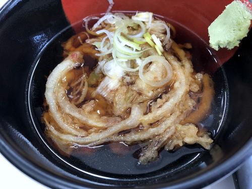 20201129そばっ子@金町 (9)かき揚げ天ぷらつけそば350ゆで玉子50.jpg