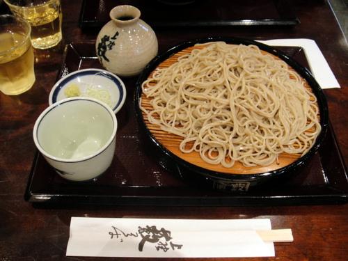 2009年6月28日、124202 上野藪そば@上野 せいろう+大盛り 750+300円 (3).JPG