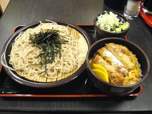 2009年6月29日、175040 ゆで太郎@大井町 かつ丼セット 690円 (5).JPG