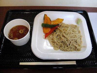 あいぷす@武蔵小山(5)もりそば290野菜素揚げ100.JPG