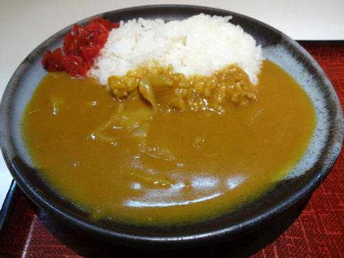 あずみ大崎店@大崎 (5)カレーセット冷やしそば770野菜かき揚130.JPG