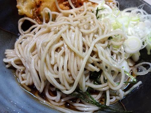 あずみ大崎店@大崎 (6)カレーセット冷やしそば770野菜かき揚130.JPG