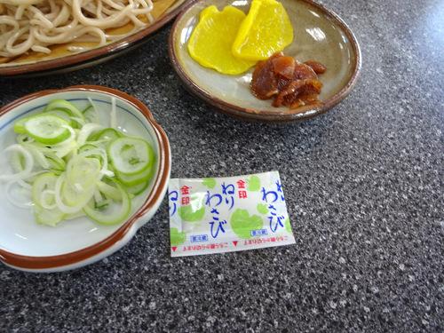 いろは食堂@羽前大山 (20)中華そば630もりそば600.JPG