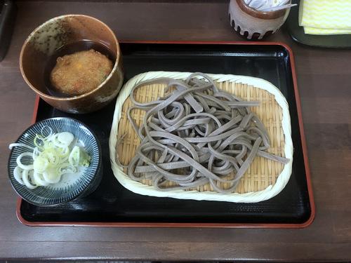 うちそば@品川シーサイド (7)田舎蕎麦700そばがきコロッケ100.jpg