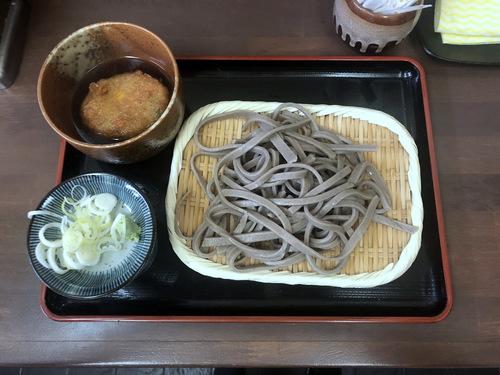 うちそば@品川シーサイド (8)田舎蕎麦700そばがきコロッケ100.jpg