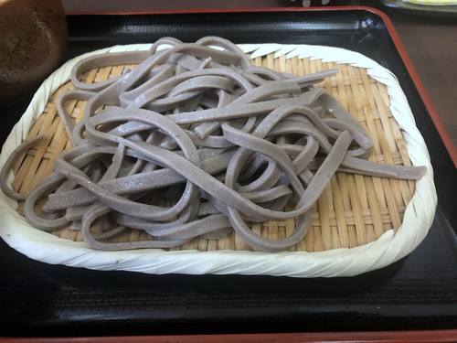 うちそば@品川シーサイド (9)田舎蕎麦700そばがきコロッケ100.jpg