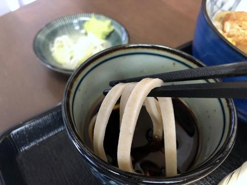うちば@品川シーサイド (11)ミニかつ丼セット太打ち麺790.jpg
