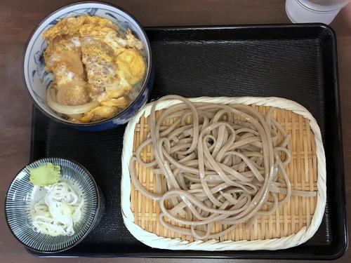 うちば@品川シーサイド (5)ミニかつ丼セット太打ち麺790.jpg
