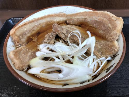 うちば@品川シーサイド (6)ダブル肉そば980.jpg