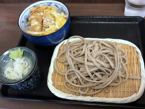 うちば@品川シーサイド (6)ミニかつ丼セット太打ち麺790.jpg
